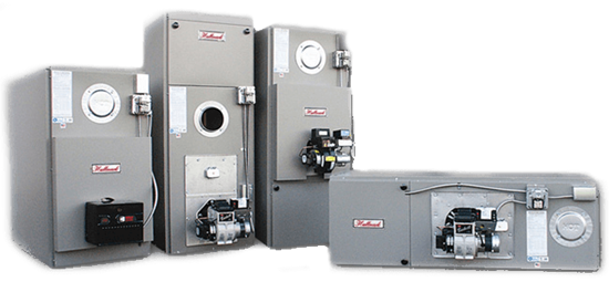 Hallmark Warm Air Oil Fired Furnaces